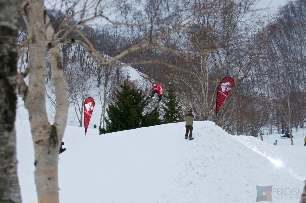 Niseko Villiage MTV Jump Competition