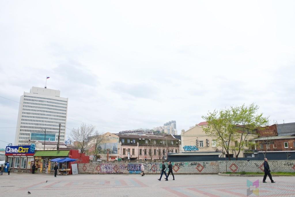 Vladivostok Street Scene