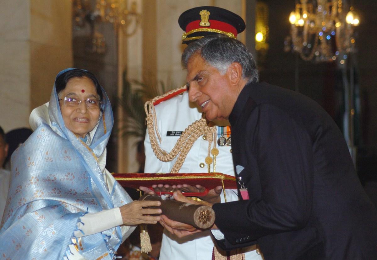 Image result for ratan tata padma bhushan