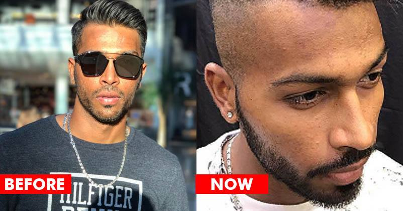 Hardik Pandya Shared His New Hair Style With His Instagram