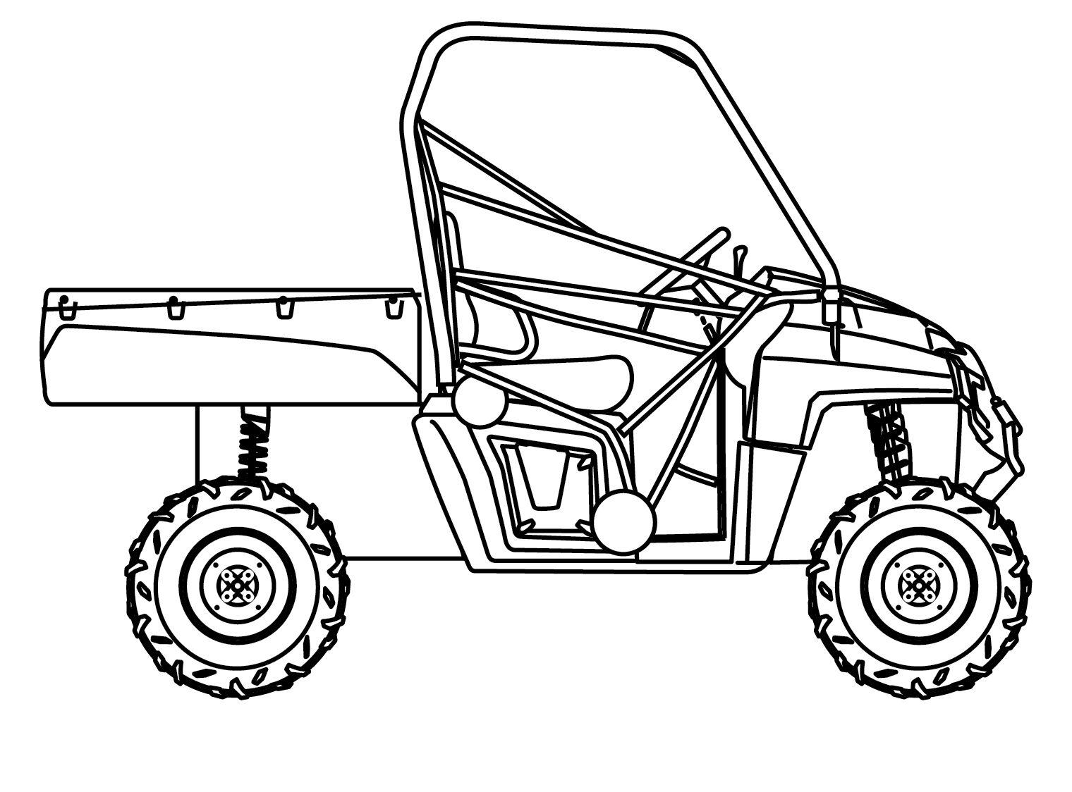 Polaris Ranger 400 570 800 Mid Seat Cover