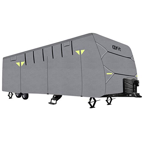 OOFIT Travel Trailer RV Cover Weather Resistant 4 - Ply ...