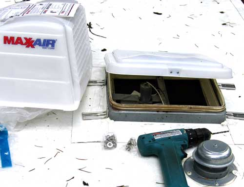 installing an rv vent cover