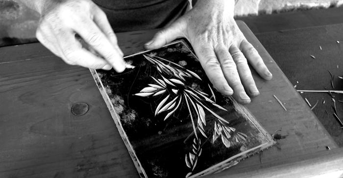linoleum cut, workshop # 05