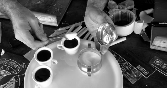 linoleum cut, workshop # 12