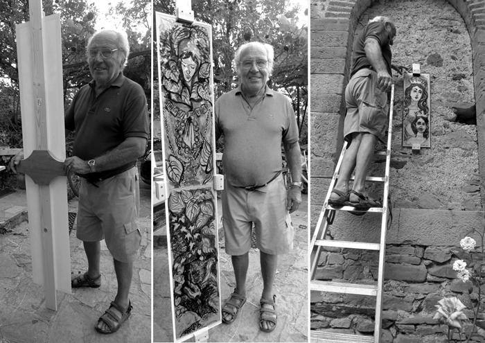 foto - Incorniciatura delle opere - maesto Piero della Alberta # 46