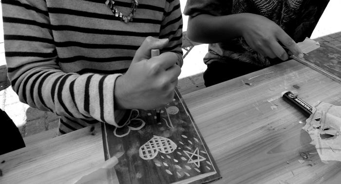 Musica e incisione laboratorio 2014, Italia.Tav. 12