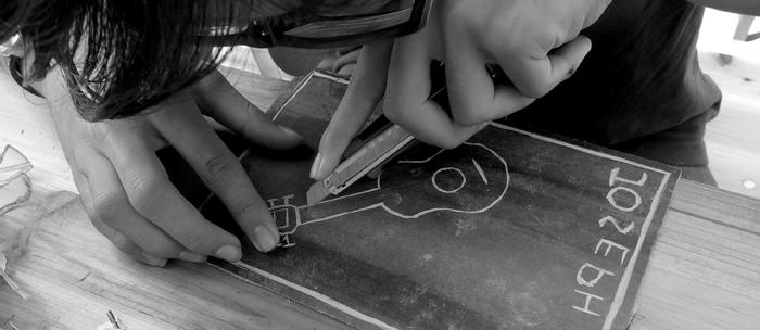 Musica e incisione laboratorio 2014, Italia.Tav. 16