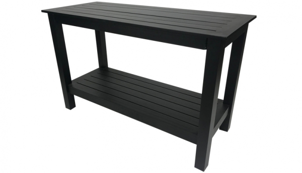 jordan cast wicker cabo console table