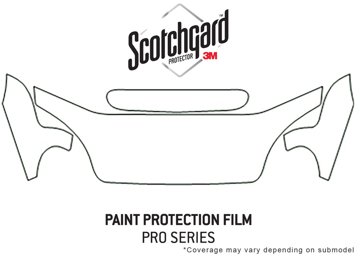 3m Pro Shield Paint Protection Kit For Daewoo Lanos