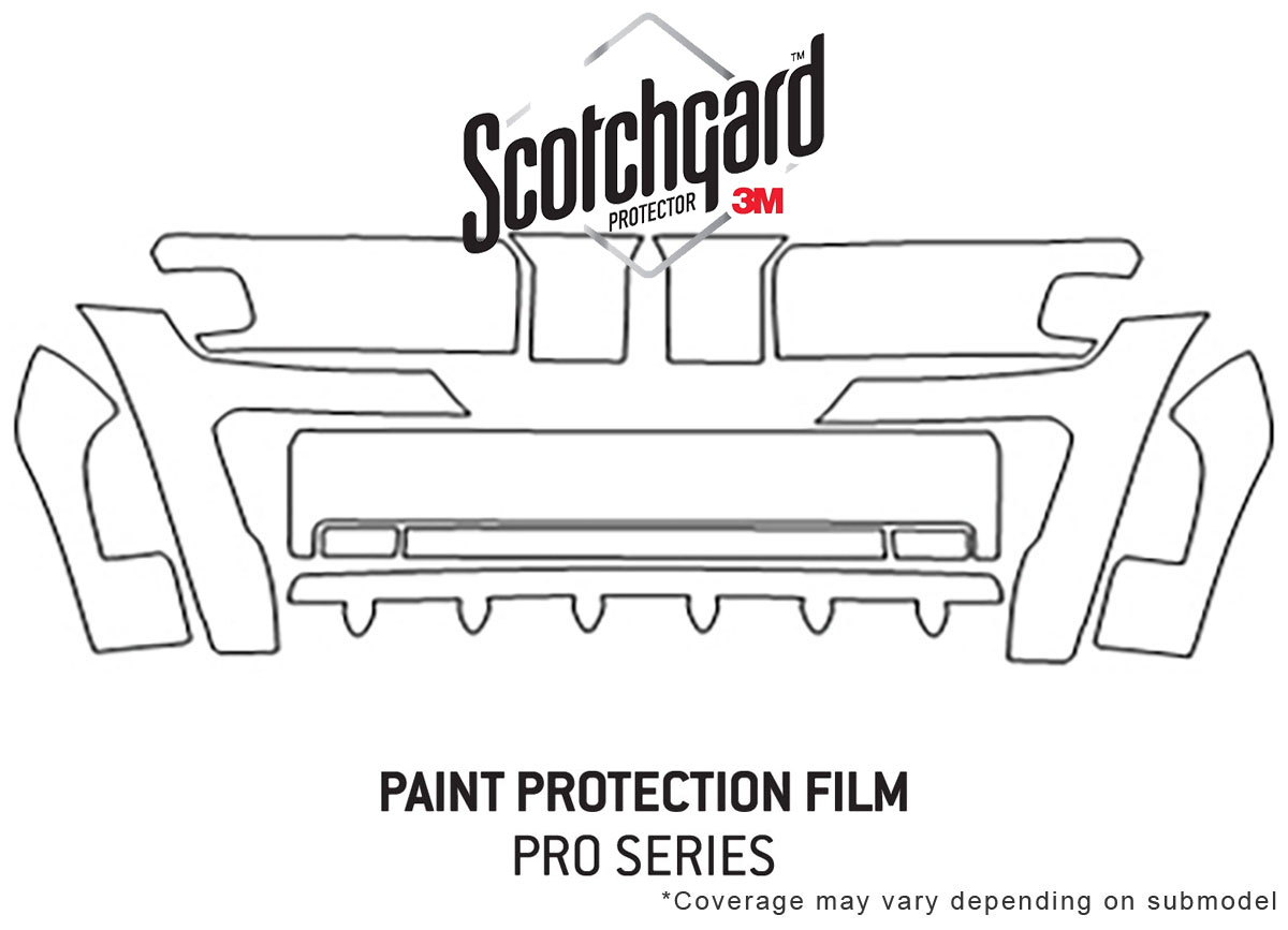 3m Pro Shield Paint Protection Kit For Jeep Liberty