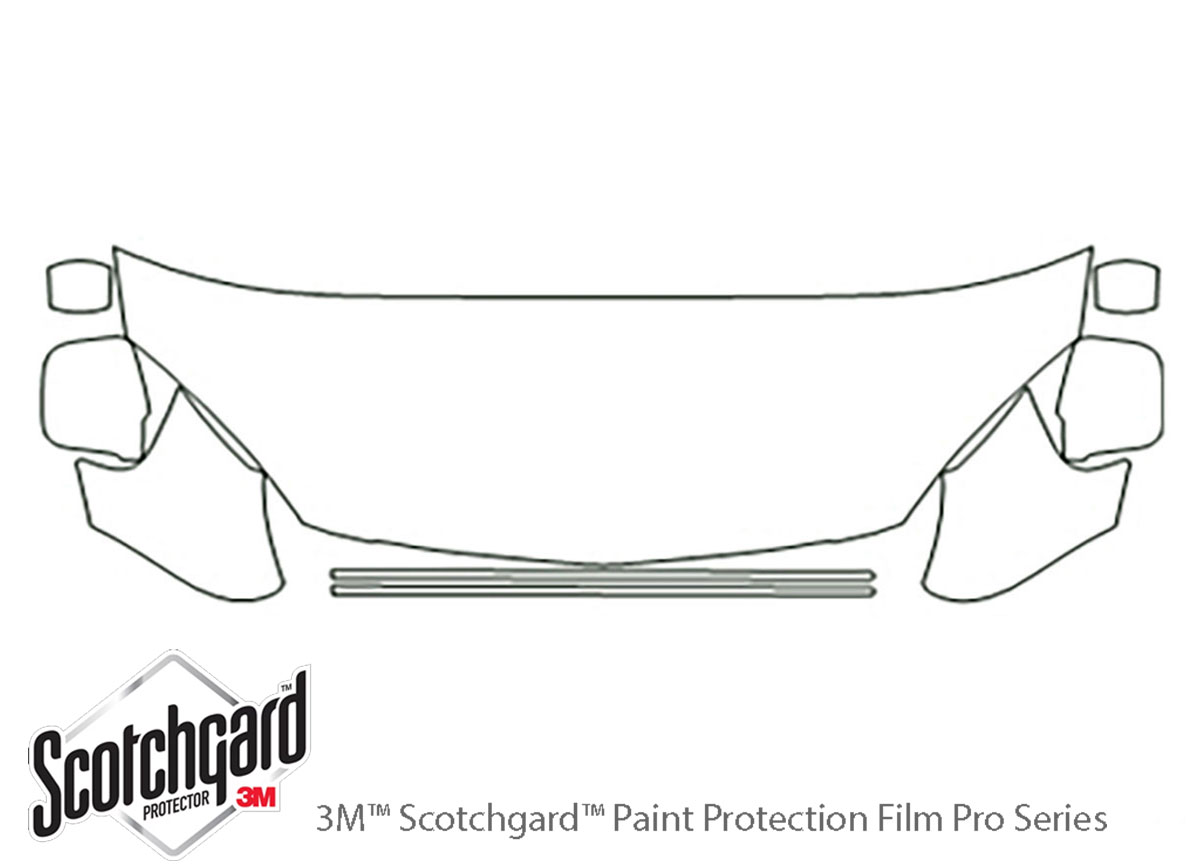 3m Acura Rsx Hood Paint Protection Kit