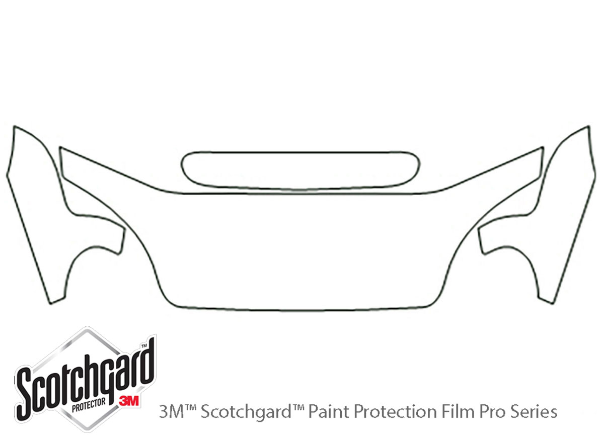 3m Daewoo Lanos Hood Paint Protection Kit