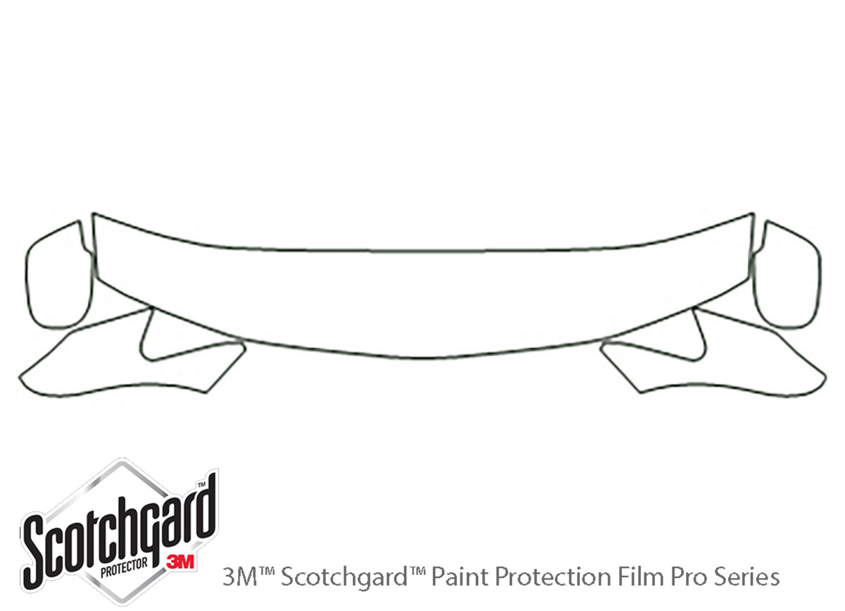 3m Honda Odyssey Hood Paint Protection Kit