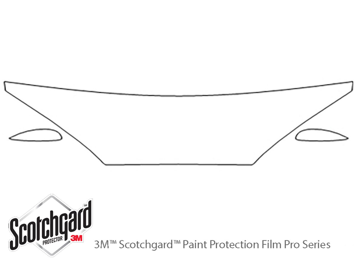 3m Mercury Cougar Hood Paint Protection Kit