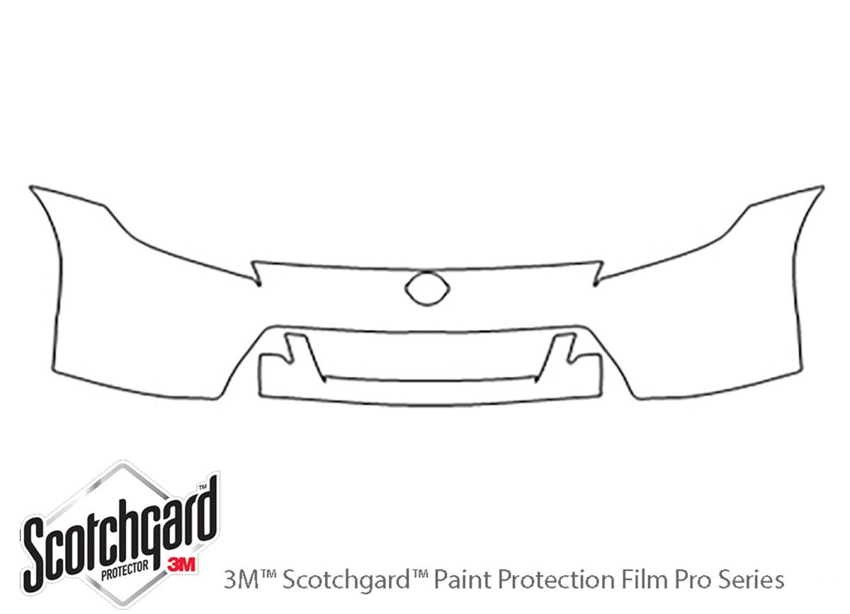 3m Nissan 370z Bumper Paint Protection Kit