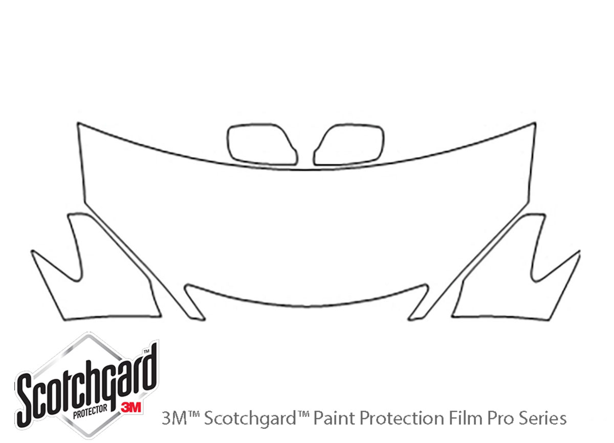 3m Toyota Camry Hood Paint Protection Kit