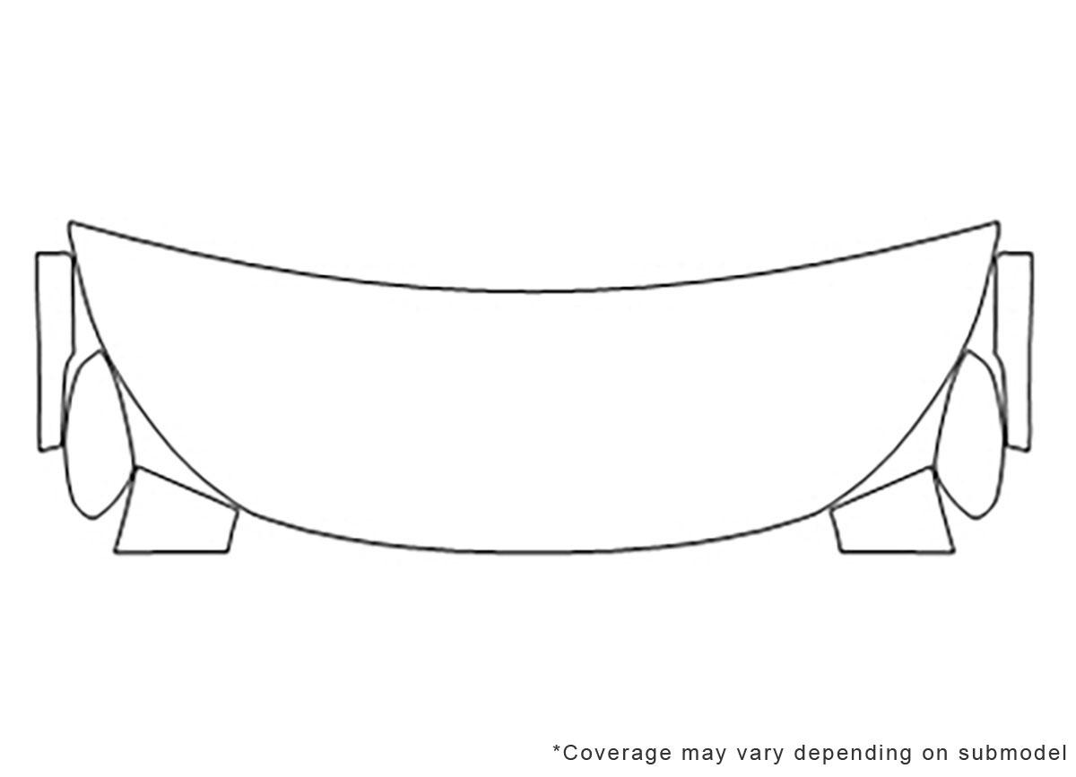 3m Mitsubishi Eclipse Cross Hood Paint