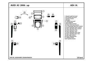 DL Auto® Audi A3 20062013 Dash Kits