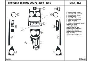 2006 Chrysler Sebring Dash Kits | Custom 2006 Chrysler