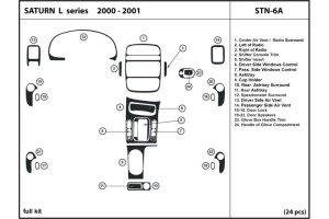 DL Auto® Saturn LSeries 20002001 Dash Kits