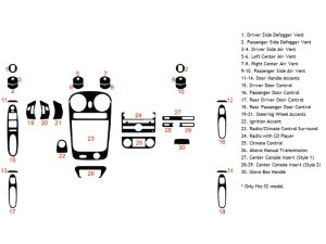 2011 Chevrolet HHR Dash Kits | Custom 2011 Chevrolet HHR Dash Kit