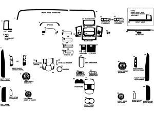 2003 Dodge Ram Dash Kits | Custom 2003 Dodge Ram Dash Kit