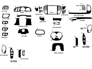 1997 Ford F150 Dash Kits | Custom 1997 Ford F150 Dash Kit