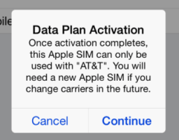 AT&T being dastardly...