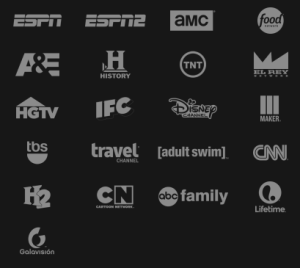 Sling TV's current (April 2015) channel lineup.