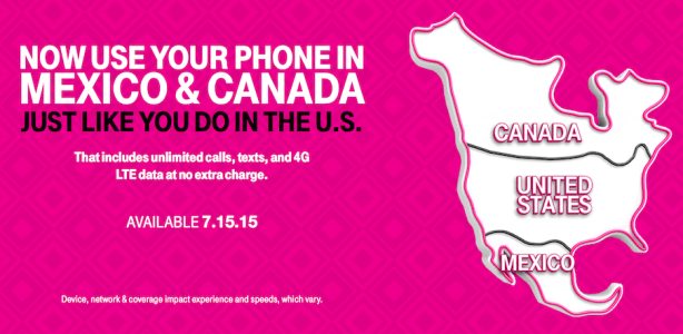 T-Mobile sets the standard for North American roaming. Sorry, AT&T.
