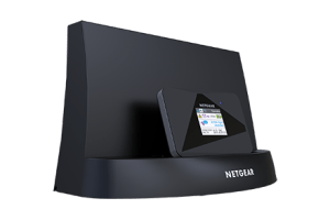 The Aircard Signal Boosting Cradle with Ethernet actually comes with a wired gigabit ethernet port to bridge your wired network with the cellular modem.