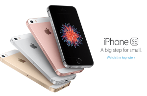 The iPhone SE packs most of the guts of the iPhone 6S into the small body of an iPhone 5. But cellular capability is lacking!