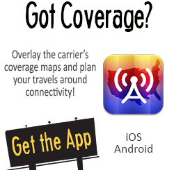 Coverage? - Overlay the Carrier's Coverage Maps