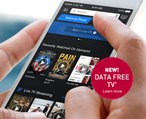 "The DirecTV Nowswik unlimited ""free"" streaming over AT&T."