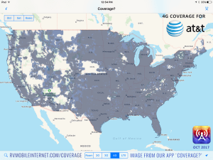 The Four Major US Carriers Verizon ATT TMobile And Sprint - Us cellular cell phone coverage map