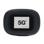 Inseego MiFi 5G-NR Mobile Hotspot for the Verizon Network