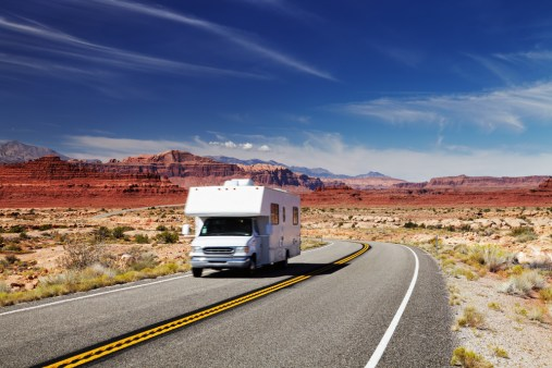 RV rentals out west