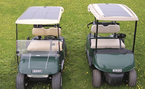 PowerDrive Solar Electric Golf Cart Charger 48 Volt | RV Solar ... on golf cart awning, golf cart lithium battery, golf cart phone charger, golf cart led lights, golf cart inverter, golf cart battery charger, golf cart air bag suspension,