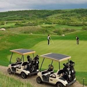 Solar Golf Cart Charger