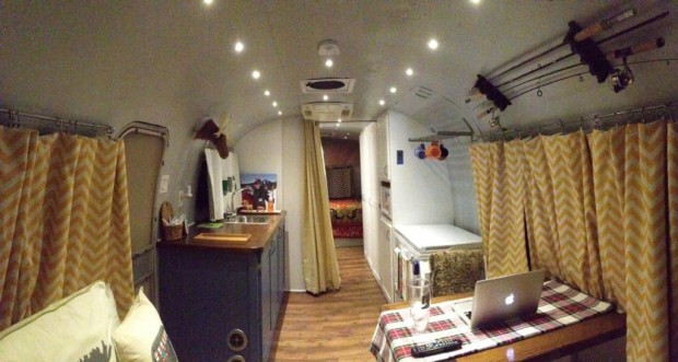 Couple Tackles Top To Bottom Airstream Reno And Comes Out