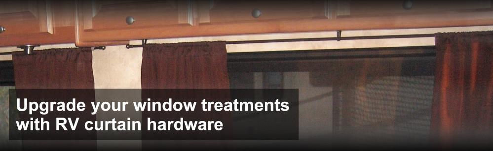 buy rv designer curtain hardware online