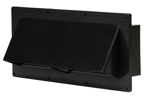 ventline v2111 55 exterior vent for rv stove hood black