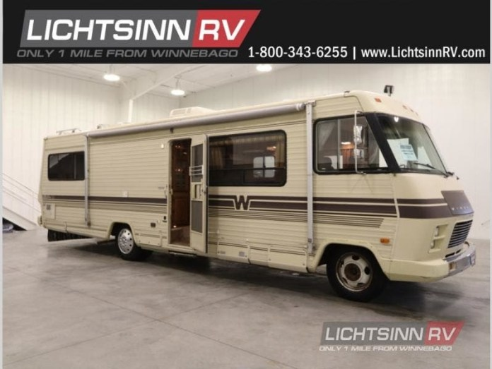 1986 Winnebago Chieftain 31RT