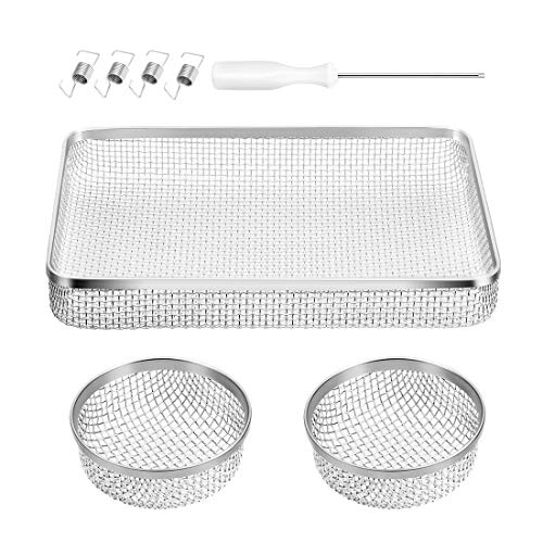 Halotronics Bug and Insect Screens for RV Refrigerator and Furnace Vent Covers for Suburban 6 Gallon Flush Mount Water Heaters