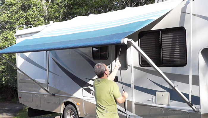 Easiest Way To Clean an RV Awning