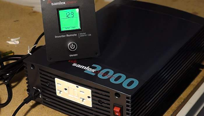 Using an Inverter to Generate Off-Grid AC Power