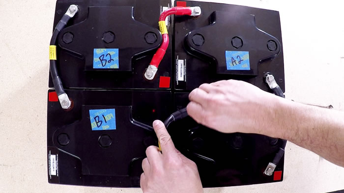 How to Connect Six Volt Batteries To Create a 12 Volt Battery Bank