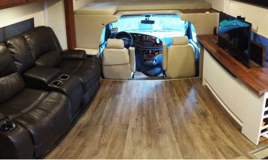 Remodelling a Class C Motorhome