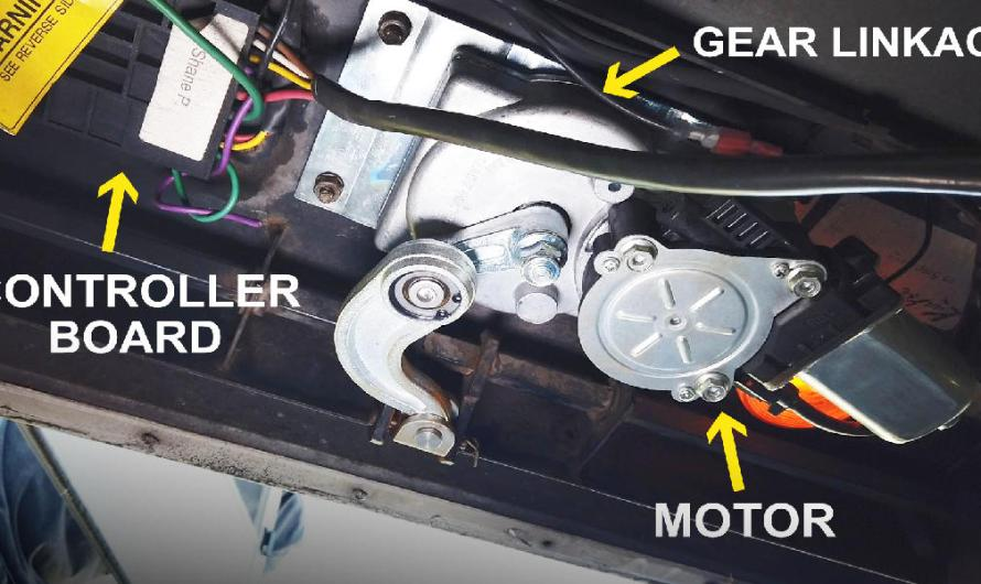 How To Repair An Automatic RV Step
